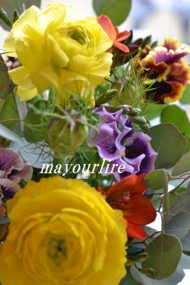 3月のマユールライラ テーブルコーディネート教室 フラワー編_d0169179_23450151.jpg