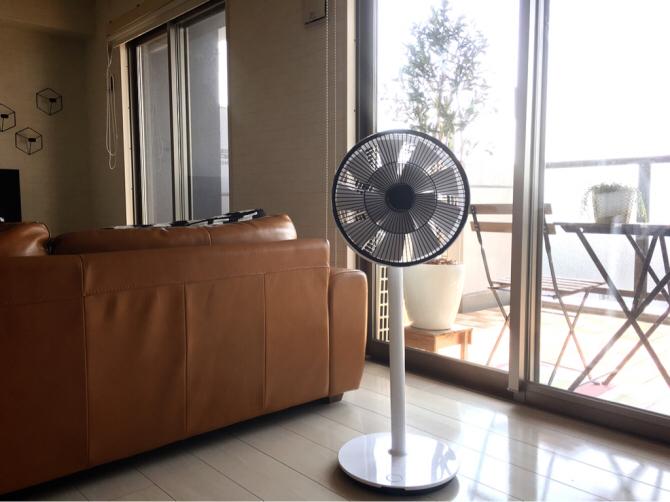 扇風機「グリーンファン」2017モデルがこれまたカッコいい〜_a0341288_21455759.jpg