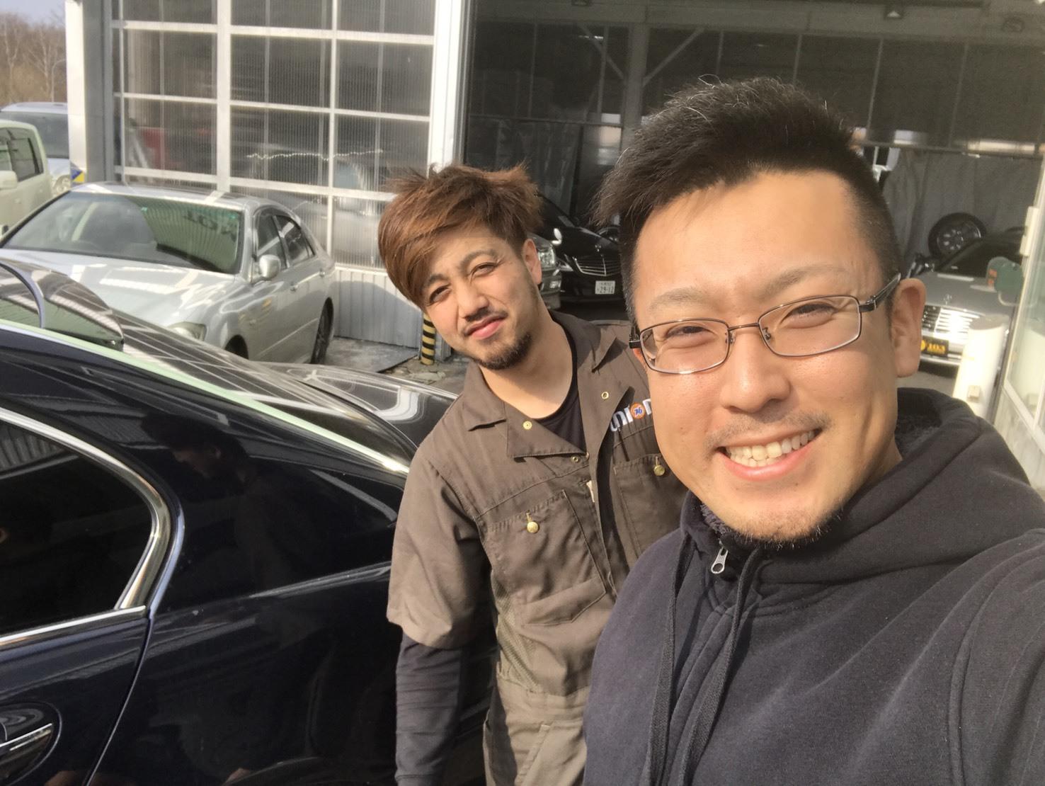 4月14日(金)TOMMY BASE ともみブログ☆ベンツ レクサス ランクル_b0127002_21370492.jpg