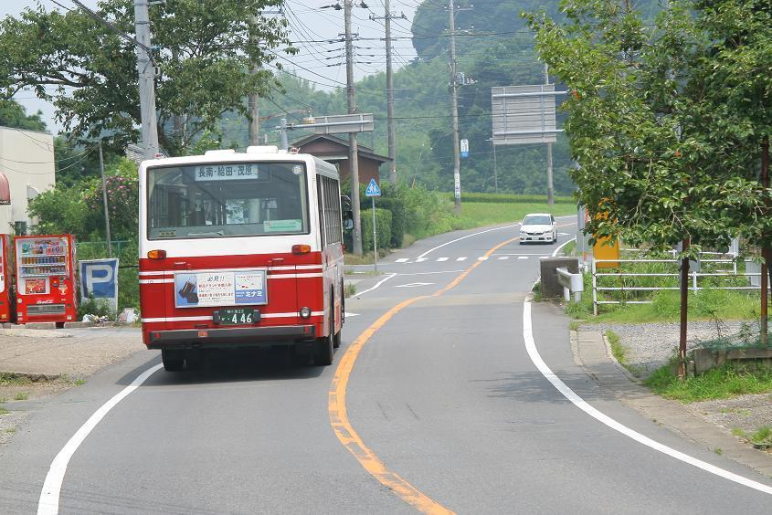 apみちのく【バスがゆっくりと坂...