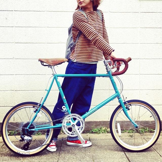 2017 BRUNO Minivelo 20 Road Drop ブルーノ ミニベロ おしゃれ自転車 自転車女子 自転車ガール ポタリング_b0212032_15462356.jpg