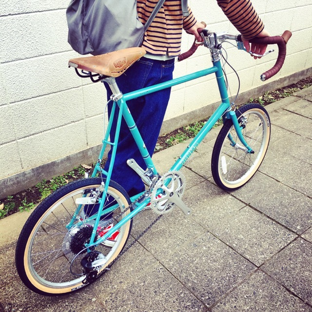 2017 BRUNO Minivelo 20 Road Drop ブルーノ ミニベロ おしゃれ自転車 自転車女子 自転車ガール ポタリング_b0212032_15464758.jpg