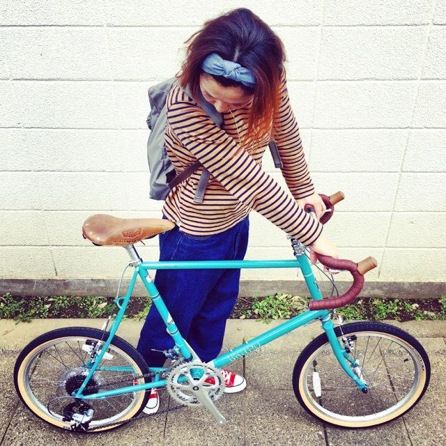 2017 BRUNO Minivelo 20 Road Drop ブルーノ ミニベロ おしゃれ自転車 自転車女子 自転車ガール ポタリング_b0212032_15510310.jpg