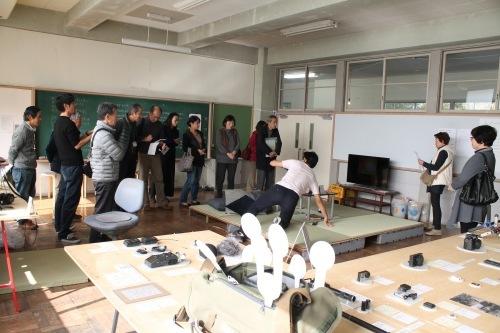 11/22 もりや市民大学 校外授業@オープンスタジオ_a0216706_13473160.jpg