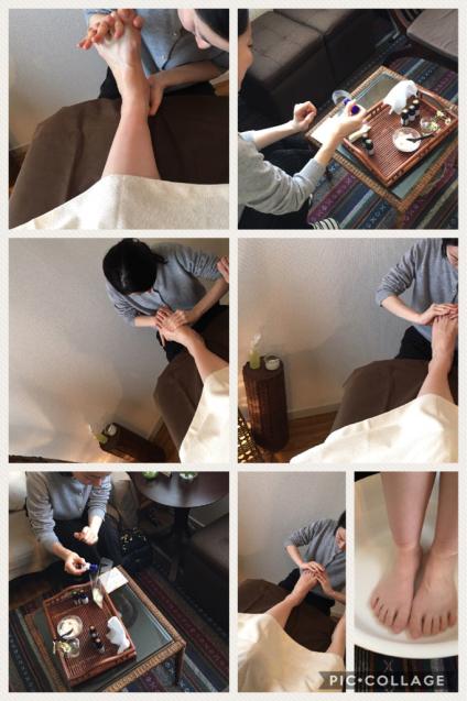 サララ セラピストスクール 復習会 ハンド+フット_f0140145_21571220.jpg