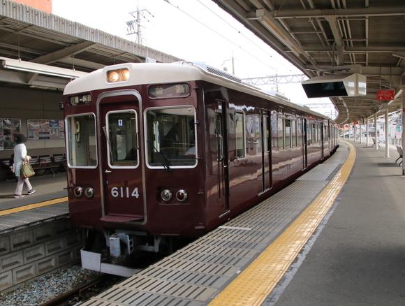 阪急6014F 箕面線 代走_d0202264_2073220.jpg