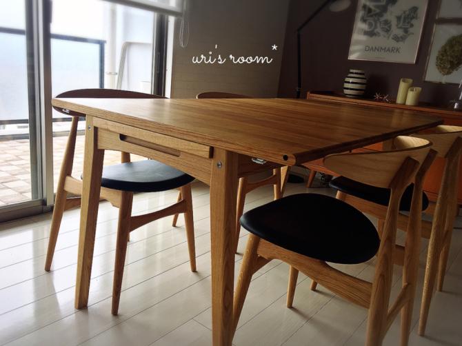 憧れのダイニングテーブルのある風景。_a0341288_21483911.jpg
