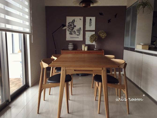 憧れのダイニングテーブルのある風景。_a0341288_22000626.jpg