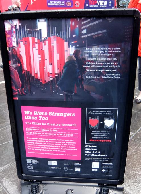 NYのタイムズ・スクエアの愛をテーマにしたアート作品まとめ_b0007805_1281617.jpg