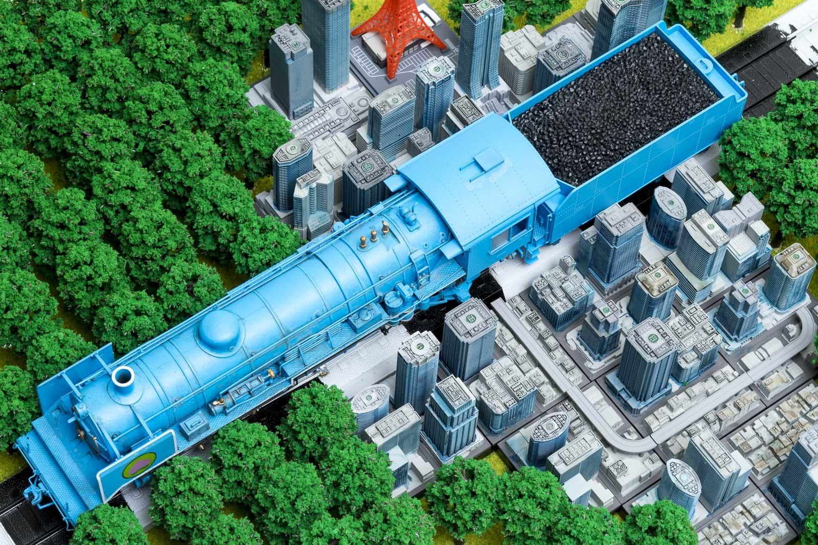 桃太郎電鉄をリアルにプラモデルで再現しないと、明日地球が滅ぶとしたら。_b0029315_00360669.jpg