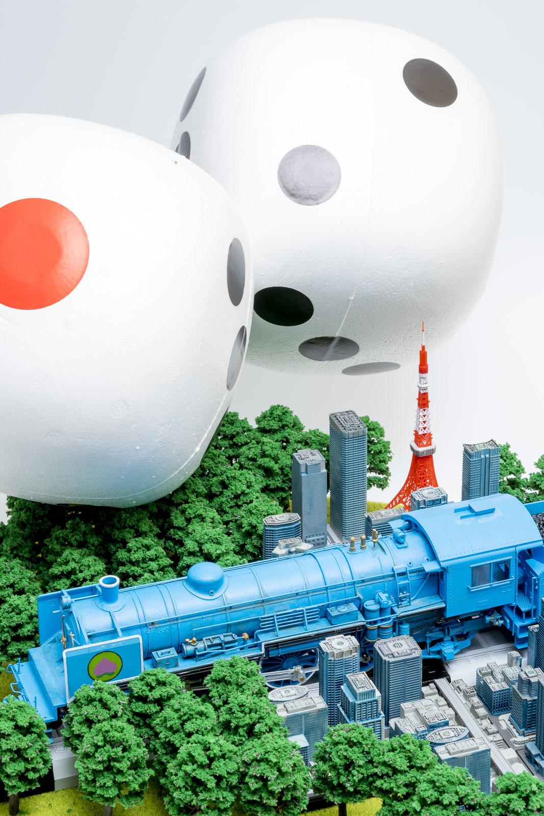 桃太郎電鉄をリアルにプラモデルで再現しないと、明日地球が滅ぶとしたら。_b0029315_00484396.jpg