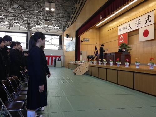 『福島県立郡山商業高等学校入学式』_f0259324_1414185.jpg