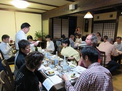土佐の地酒「清酒亀泉」を楽しむ夕食会_f0006356_10003389.jpg