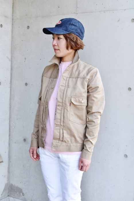 FULL COUNT 。。。TWILL 2nd JACKET!★!_d0152280_21212133.jpg
