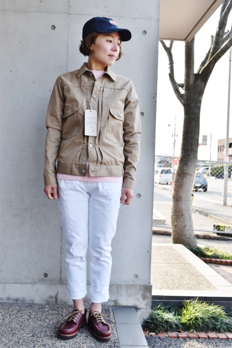 FULL COUNT 。。。TWILL 2nd JACKET!★!_d0152280_21222197.jpg