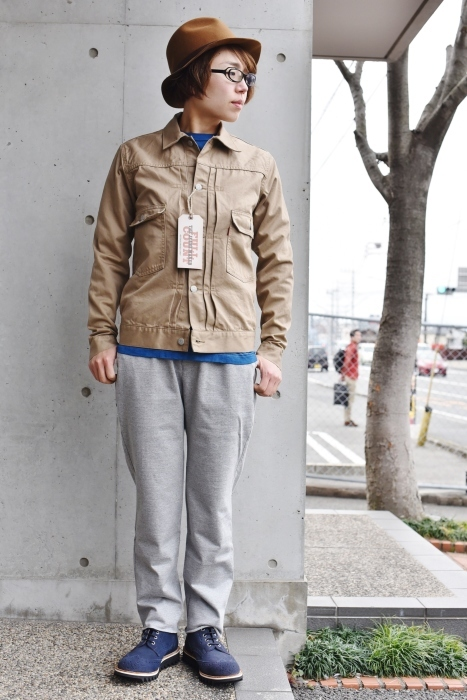 FULL COUNT 。。。TWILL 2nd JACKET!★!_d0152280_21241797.jpg