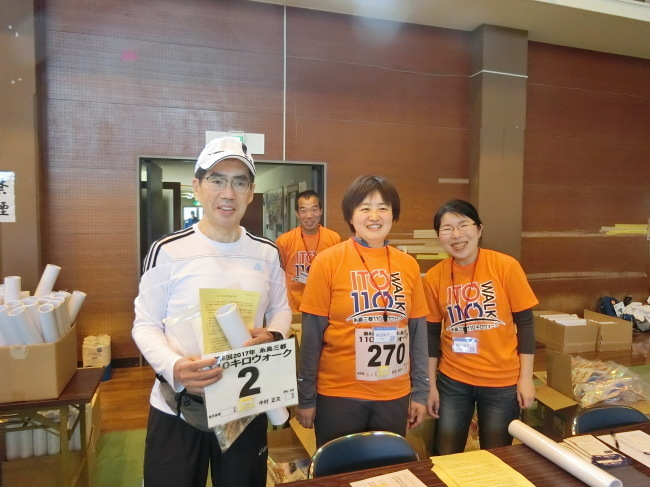 第8回糸島三都110キロウォークの完歩報告_e0294183_17585051.jpg