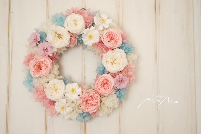ご結婚お祝いリース!!_a0136507_23052898.jpg