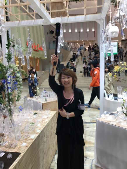 本日最終日は18時まで!2017.4.12 → 4.17 takatomi daisuke glass show @阪急うめだ 9階 祝祭広場_f0045630_08045110.jpg