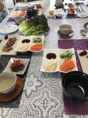 饅頭レッスン、焼肉レッスンなど_a0175348_16151291.jpg