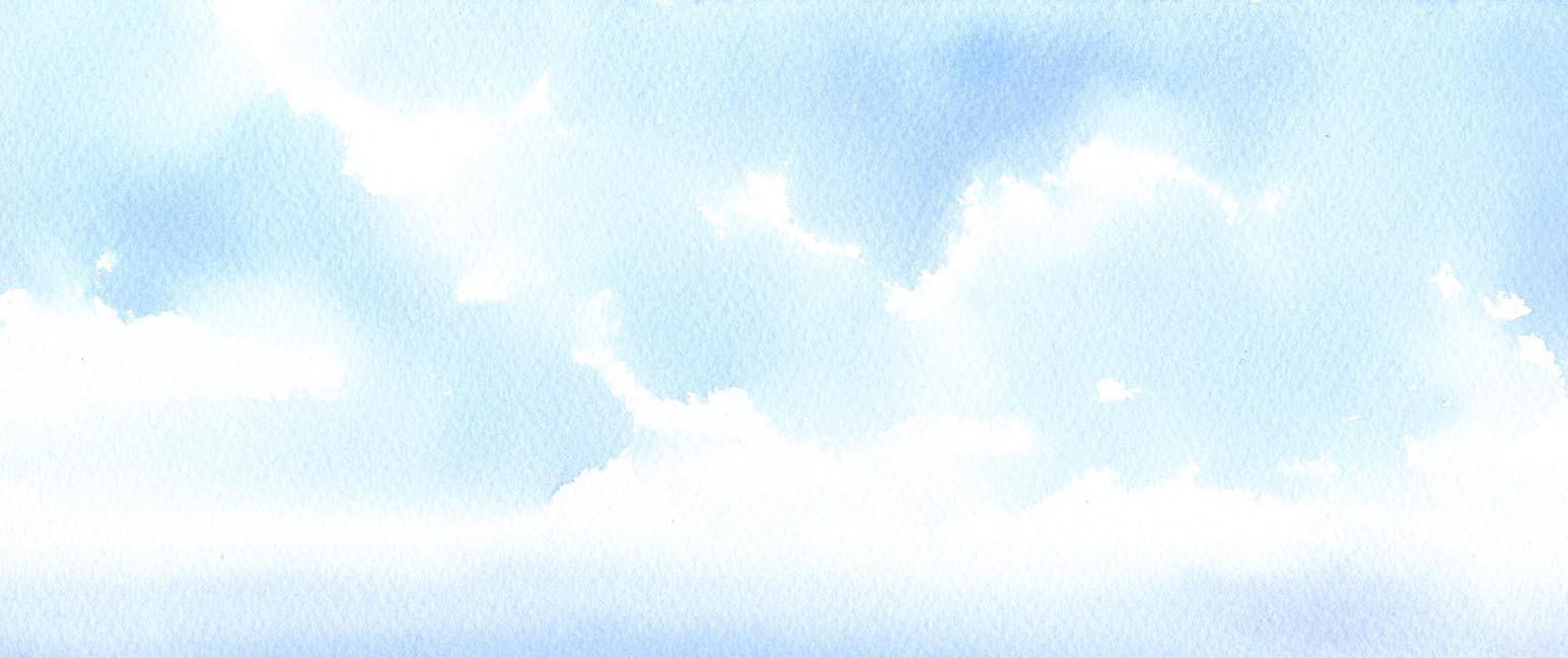 空 水彩画_f0176370_16315943.jpg
