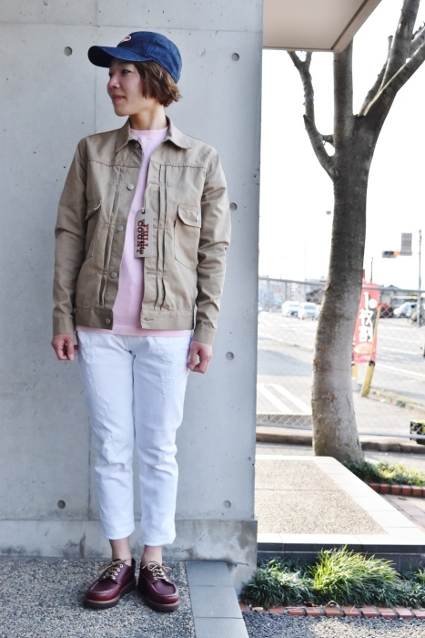 FULL COUNT 。。。TWILL 2nd JACKET!★!_d0152280_13494347.jpg