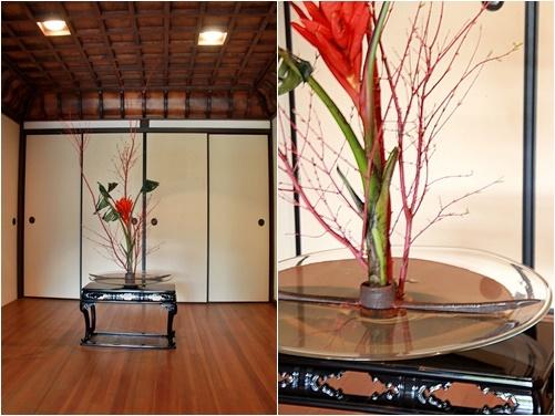 ◆最後の桜・・「行き行きて 行きて花」いけばな二人展  豊中 桜の庄兵衛ギャラリー_e0154682_17205370.jpg