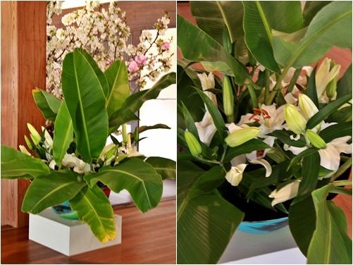 ◆最後の桜・・「行き行きて 行きて花」いけばな二人展  豊中 桜の庄兵衛ギャラリー_e0154682_17211116.jpg