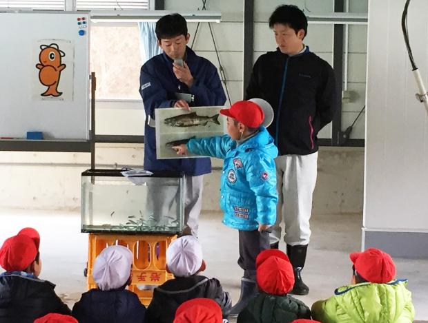 安家川と鮭稚魚放流会なのだ!_c0259934_09585386.jpg