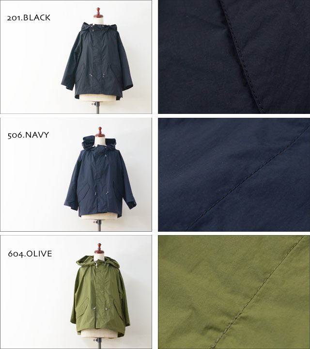 GRANDMA MAMA DAUGHTER [グランマ・ママ・ドーター] MILITARY PARKA [GJ711401] LADY\'S_f0051306_20310449.jpg