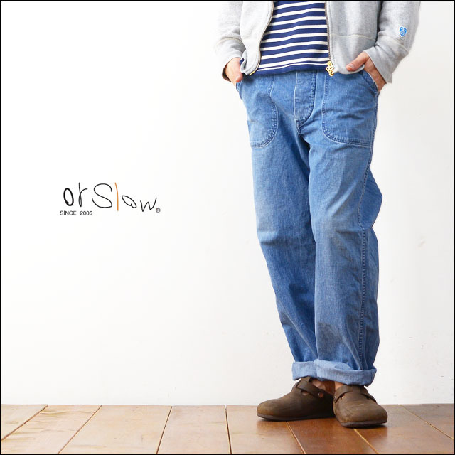 orslow[オアスロウ] US NAVY DENIM PANTS 3YEAR WASH [01-5130-98] 【ユーエスネイビー デニムパンツ 3YEAR WASH】MEN\'S_f0051306_21171354.jpg