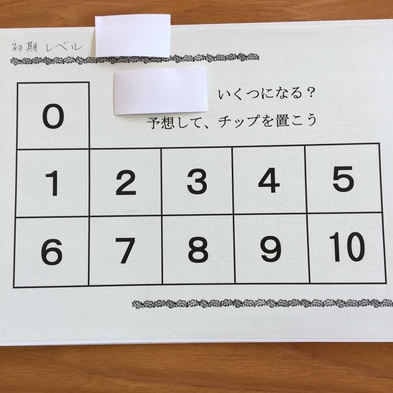 ラッキーナンバーはどれだ、サイコロ二つ_e0366572_16584559.jpg