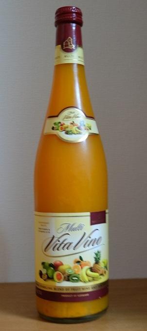 フルーツワイン マルチ・ヴィタ・ヴィーノ(Multi Vita Vino)をいただきました。_f0362073_15530998.jpg