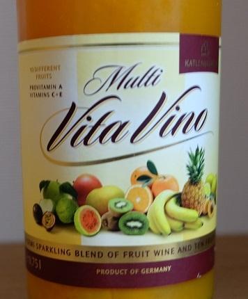 フルーツワイン マルチ・ヴィタ・ヴィーノ(Multi Vita Vino)をいただきました。_f0362073_15533785.jpg