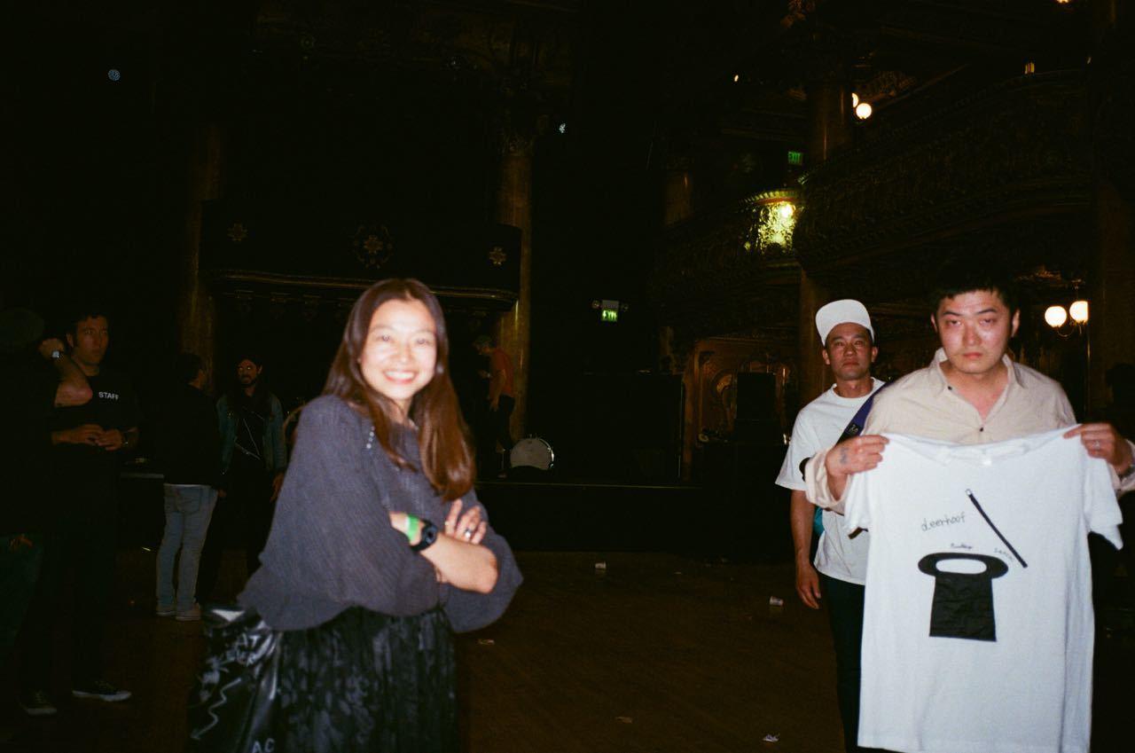Deerhoof LIVE ! at Great American Music Hall_f0170995_14501183.jpg