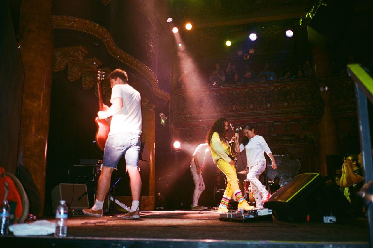 Deerhoof LIVE ! at Great American Music Hall_f0170995_14501570.jpg