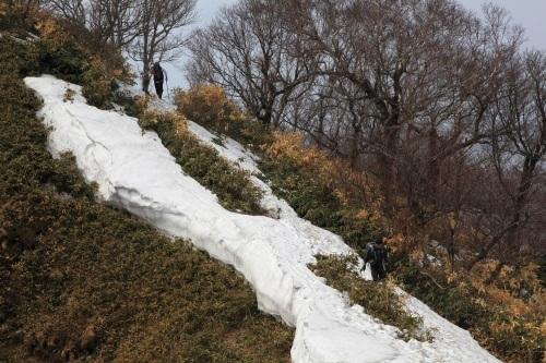 伊達紋別岳、2017.4.16-同行者からの写真-_f0138096_19504681.jpg
