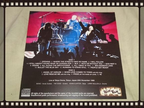 U2 / FIRST NIGHT AT DOME_b0042308_18373947.jpg