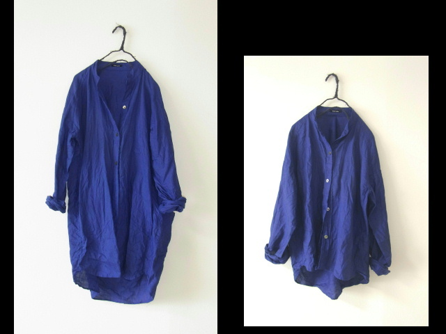 ラグランスリーブ切り替えシャツ_a0152283_08182438.jpg