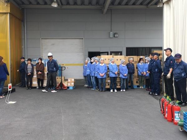 甲南工場の定期消防訓練_b0100062_14162068.jpg