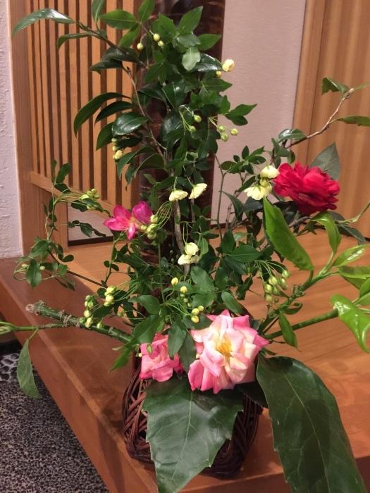 春のお花🌼頂きました、活けました_f0156675_20015587.jpg