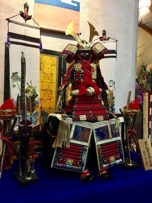 端午の節句🎏鎧兜の飾り今年も無事に❣️_f0156675_20254953.jpg