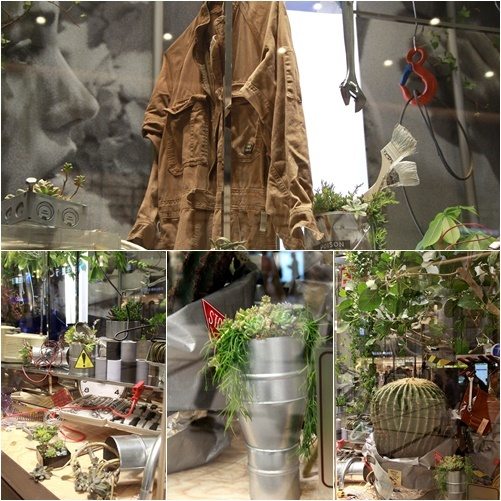 ◆『NATURE IN THE CITY』・・阪急百貨店のショーウインドウ_e0154682_00391317.jpg