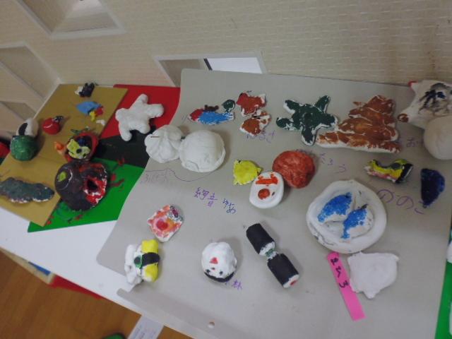 【工作教室】低学年『マグネット紙粘土』 中高学年『ジオラマ』制作_f0225094_23514349.jpg