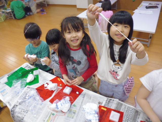 【工作教室】低学年『マグネット紙粘土』 中高学年『ジオラマ』制作_f0225094_23535321.jpg