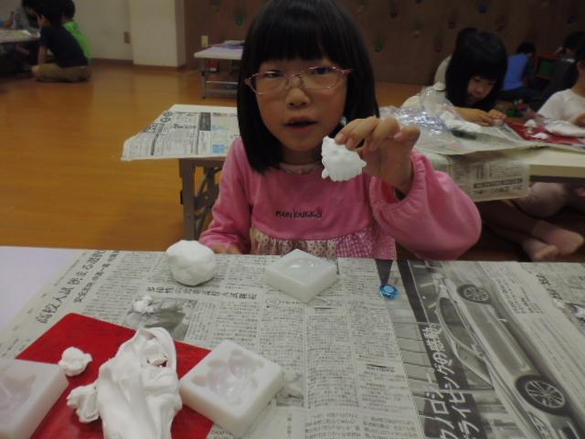 【工作教室】低学年『マグネット紙粘土』 中高学年『ジオラマ』制作_f0225094_23544766.jpg
