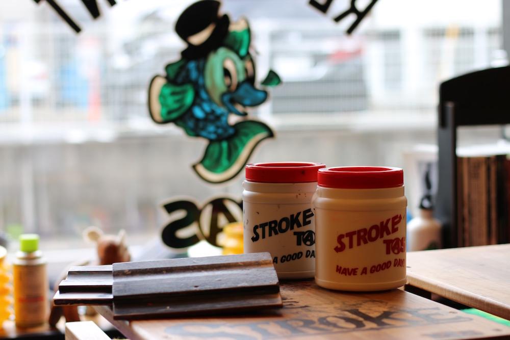 "4/22 STROKE. \""PRINT AND STENCIL WORKS\"" at TAS_d0101000_20395515.jpg"