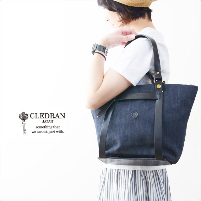 CLEDRAN [クレドラン] CLE DETACHABLE 2WAY TOTE [CL-2628][81-3661] LADY\'S_f0051306_15131022.jpg