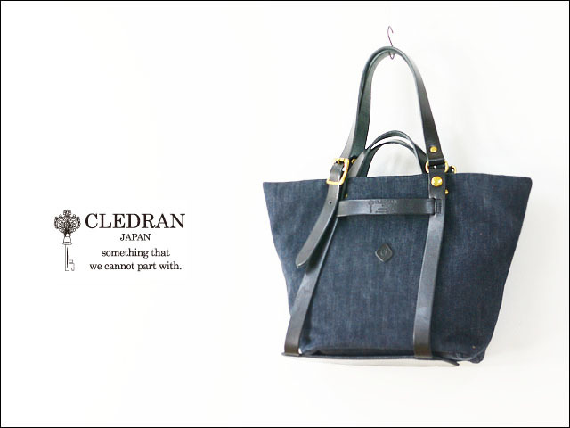 CLEDRAN [クレドラン] CLE DETACHABLE 2WAY TOTE [CL-2628][81-3661] LADY\'S_f0051306_15131133.jpg