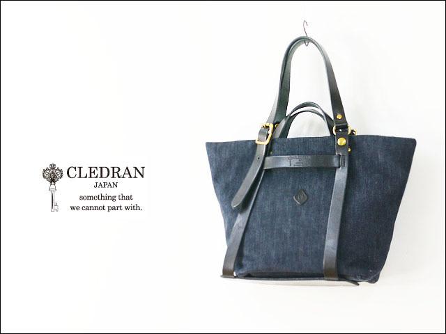 CLEDRAN [クレドラン] CLE DETACHABLE 2WAY TOTE [CL-2628][81-3661] LADY\'S_f0051306_15131133.jpg